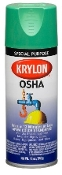 Krylon 2012 Safety Green OSHA Color Paint - 12 oz. Aerosol