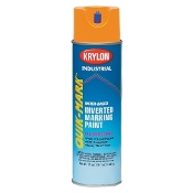 Krylon 3700 Quik-Mark Inverted Marking Paint Fluorescent Orange