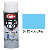 Krylon S01540 Tough Coat Acrylic  - LIGHT BLUE