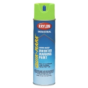 Krylon S03630 Water Based Marking Paint, Fluorescent Neon Green