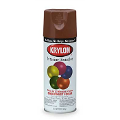 Krylon Spray Paint, Leather Brown, 12 oz.