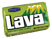 LAVA SOAP 4 OZ BAR(48PERCASE)GRN