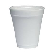 6 OZ STYROFOAM CUPS 40-SLV/CASE