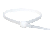 3-M 6202-WHITE CABLE TIE 8 INCH WHITE 50 LB (100 QTY.)
