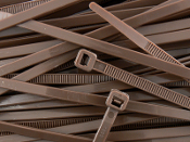 3-M 6202-BROWN CABLE TIE 8 INCH BROWN 50 LB