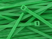 3-M 6202-GREEN CABLE TIE 8 INCH GREEN 50 LB (QTY. 100)