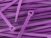 3-M 6202-PURPLE CABLE TIE 8 INCH PURPLE 50 LB (100 QTY.)
