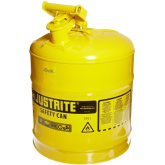 SAFETY CAN 5 GAL YEL NO SPOUT