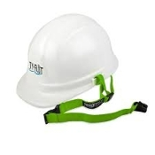LIME GREEN HARD HAT LANYARD
