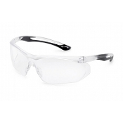 CLEAR / BLACK PARALLAX  GLASSES