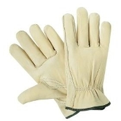 DRIVERS GLOVE (GREEN BAND)MEDIUM