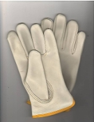 DRIVERS GLOVE EXTRA SMALL YELLOW