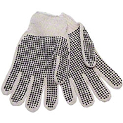 DOUBLE SIDED PLASTIC DOT GLOVE