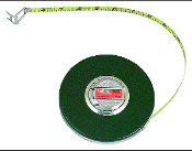 "LUFKIN HW223 3/8"" x 50' Banner® Yellow Clad Tape Measure"