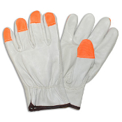 CORDOVA 8211HV-MEDIUM DRIVERS GLOVE W/HI-VIS FINGERTIP