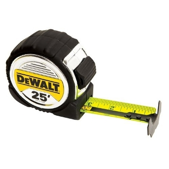 "DEWALT DWHT33975 1-1/4"" X 25FT TAPE 2ND GEN."