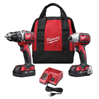 MILWAUKEE 2691-22 M 18V DRILL & IMPACT DRIVER KIT