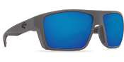 COSTA BLOKE GRAY & BLACK BLUE LENS BLK127OBMGL