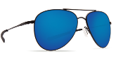 COSTA COOK SATIN BLACK W/ BLUE LENS  580PCOO101OBMP