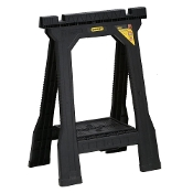 Stanley 31 in. Folding Sawhorse JR (2-Pack)