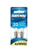 Rayovac K2 Krypton Bulb -  BY THE PKG 2PER PKG