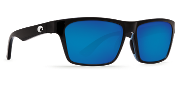 COSTA HINANO BLACK FRAME BLUE MIRROR LENS