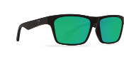 COSTA HINANO BLACK FRAME GREEN MIRROR LENS