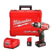 "MILWAUKEE 2403-22 M12 1/2"" DRILL- DRIVER KIT"