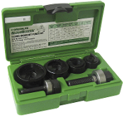 "Greenlee 7235BB 1/2"" - 1-1/4"" Knockout Punch Kit"
