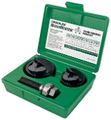 "Greenlee 7237BB 1-1/2"" and 2"" Conduit Knock Out Kit"