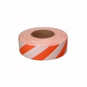 C.H. Hanson CHH17063-ORANGE & WHITE STRIPED TAPE