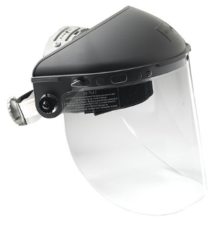 FIBRE-METAL F-500 FACESHIELD HEADGEAR