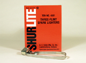 SURELITE 5011 - 3 FLINT SPARK LIGHTER (STRIKER)