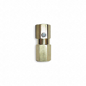 Brass In Line Check Valve 1/2""