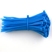 3-M 6201-BLUE CABLE TIE 6 INCH  BLUE