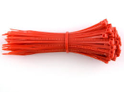 3-M 6201-RED CABLE TIE 6 INCH RED (100QTY.)