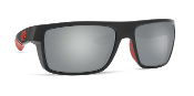 COSTA MOTU RACE BLACK FRAME W/ GRAY SILVER LENS