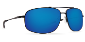 COSTA SHIPMASTER SATIN BLACK FRAME W/ BLUE LENS