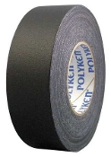 "GAFFERS TAPE 1"" X 55 YDS BLACK"