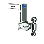 B&W Trailer Hitches TS10040C - Class 4 Tow & Stow Adjustable 7""