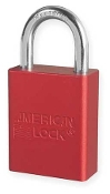 AMERICAN LOCK A1105RED - RED SAFETY LOCKOUT PADLOCK