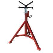 "B&B 4100 - 3 LEG V-HEAD PIPE STAND  27""-48"""