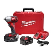 "MILWAUKEE M18™ 3/8"" Impact Wrench Kit with Friction Ring"