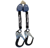 Spanset USCSRW6RT Twin Self Retracting Lifeline with Shock Pack