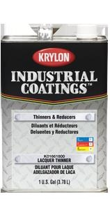 KRYLON INDUSTRIAL COATINGS LACQUER THINNER - GAL.