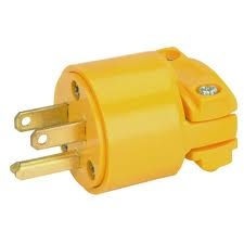 MALE ELECTRICAL PLUG END