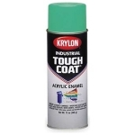 Krylon S01470 Tough Coat Acrylic - SAFETY GREEN